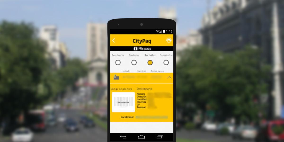 App Citypaq