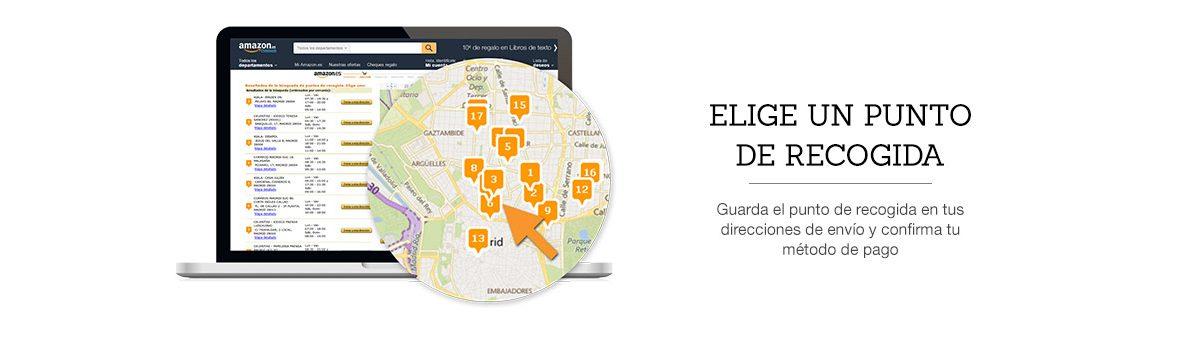 Puntos de recogida Citypaq Amazon