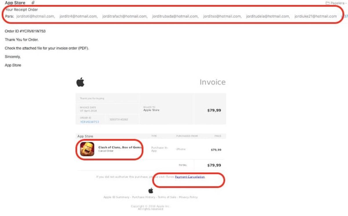 Cómo descubrir un correo de Phishing