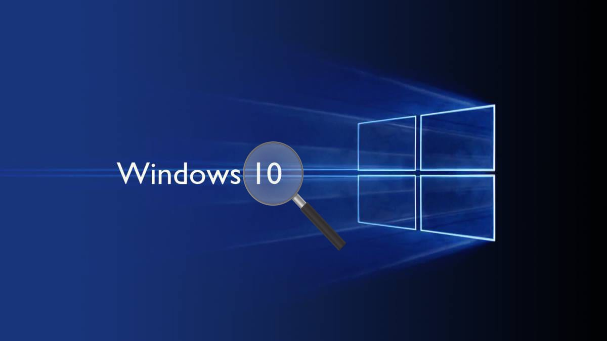 Buscar archivos Windows 10