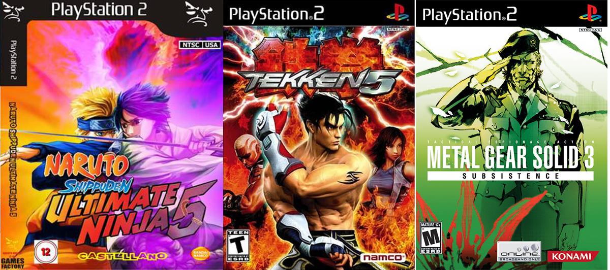 Emulador PS2 Juegos