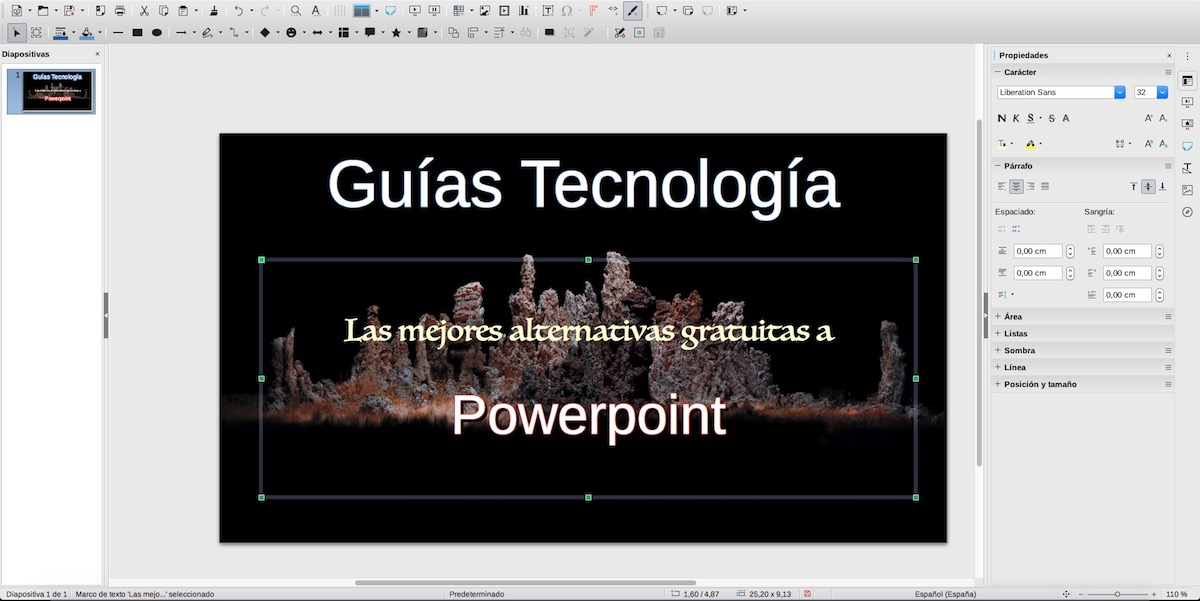 Impress - LibreOffice