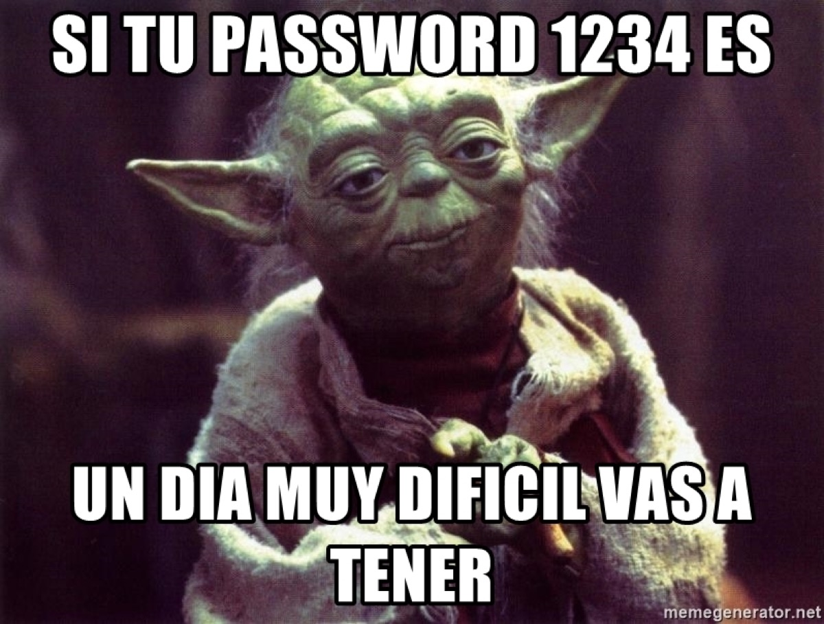 Meme password 1234
