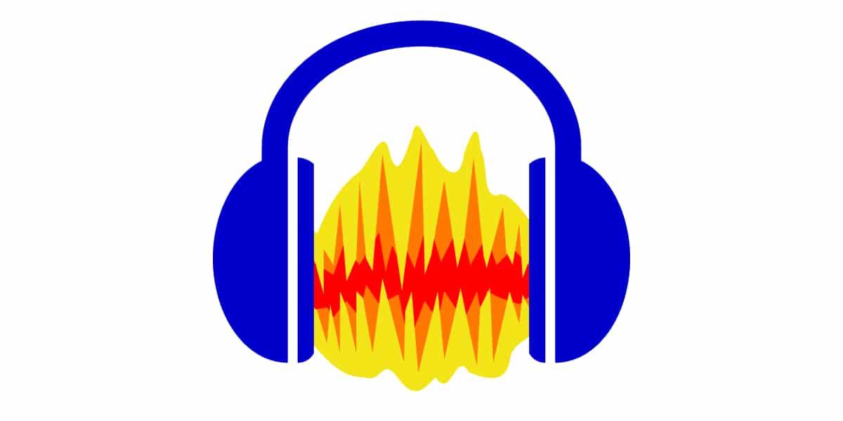 Logo de aplicación Audacity