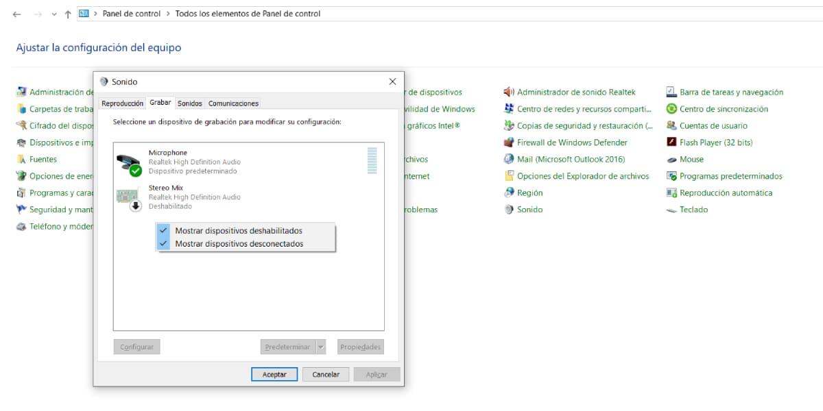 Configurar el micrófono y sonido de tu PC en Windows