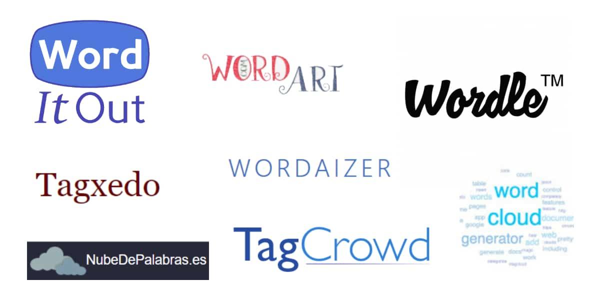 Principales generadores de nubes de palabras online