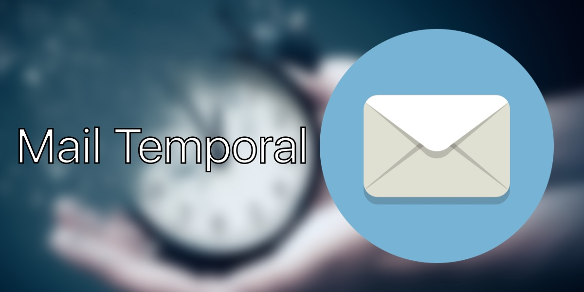 Crear email temporal