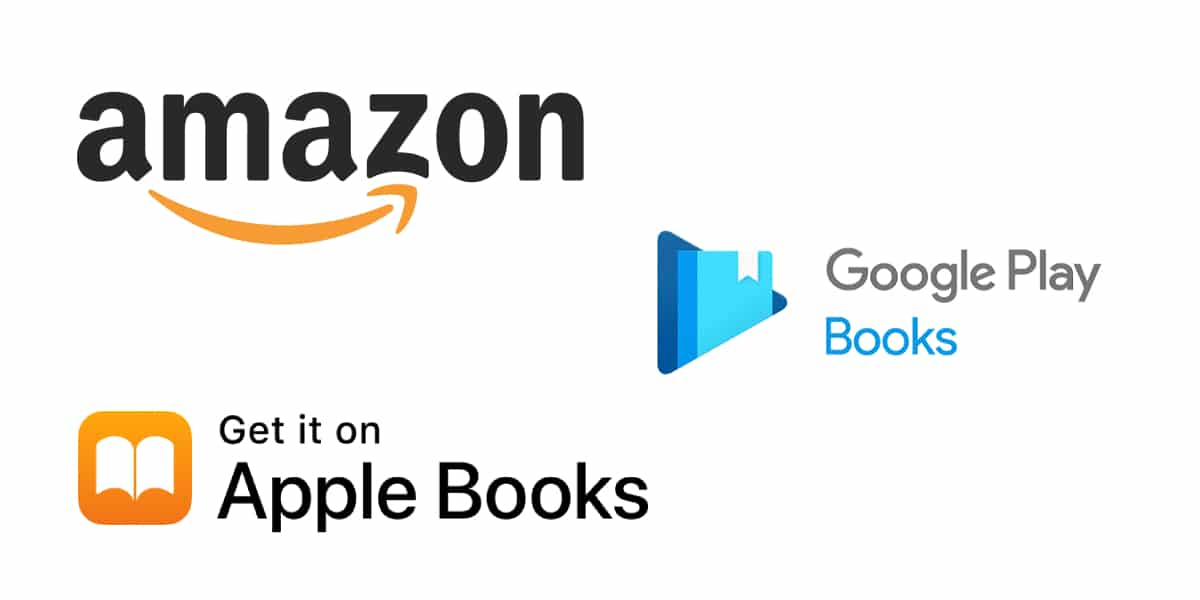 Amazon Books, Apple Books y Google Books. Alternativas ePublibre