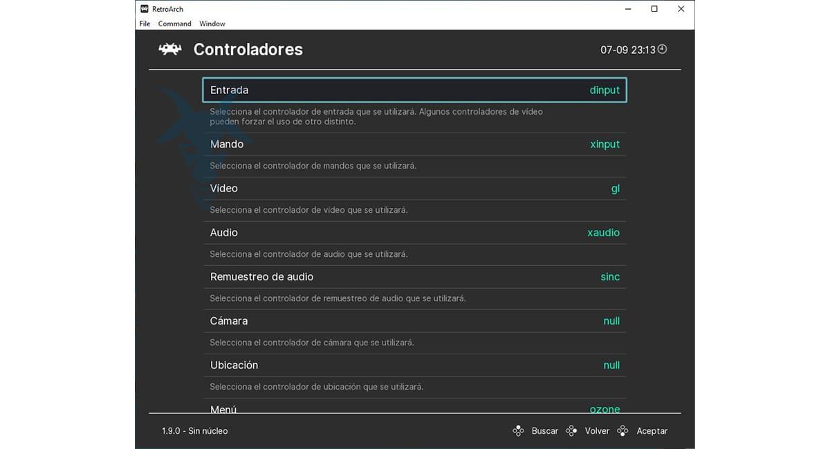 Instalar y configurar RetroArch