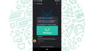 Código verificación WhatsApp