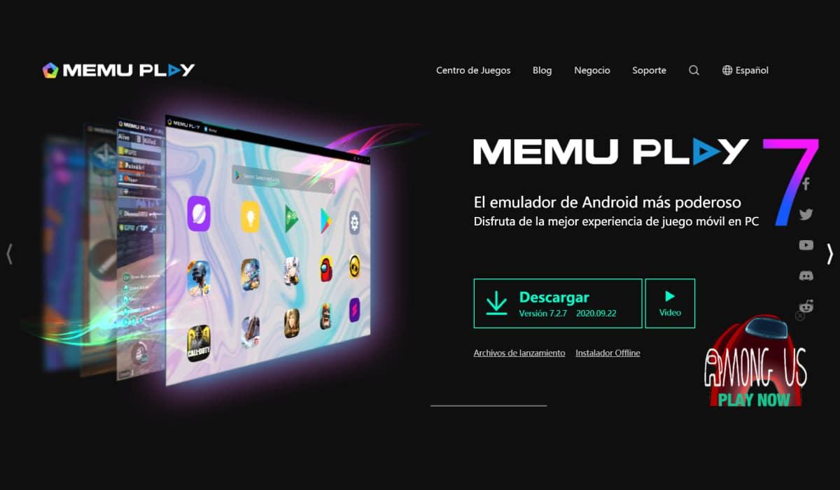 Emulador MeMu Play para Inshot pc