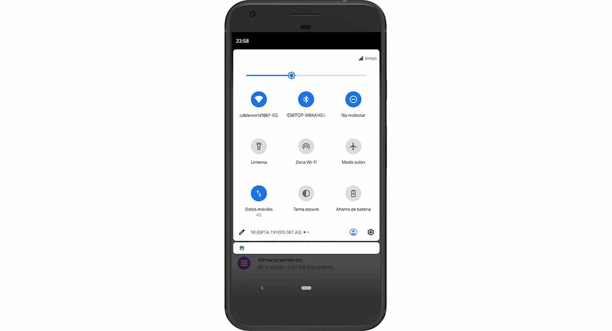 Consumo de batería - Bluetooth y Wi-Fi