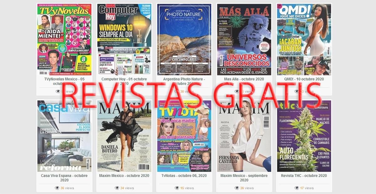Revistas gratis en español: dónde descargar la mejor ...