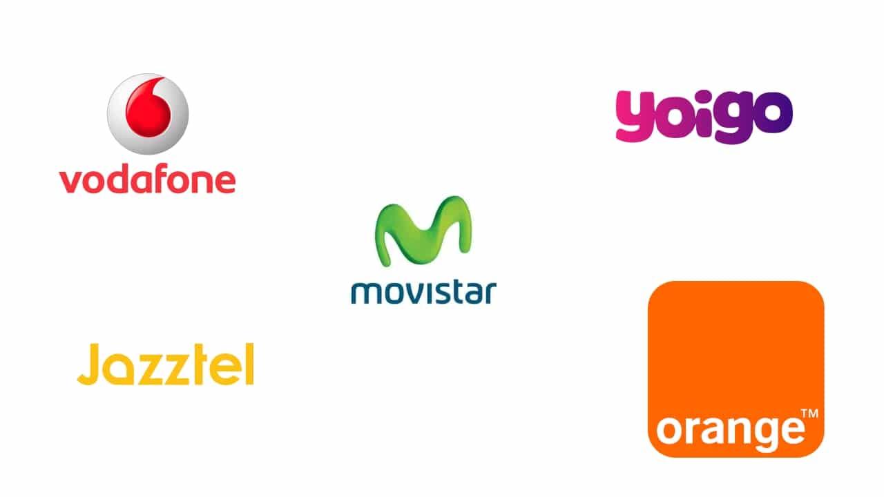 Logos ISPs, proveedores de Internet