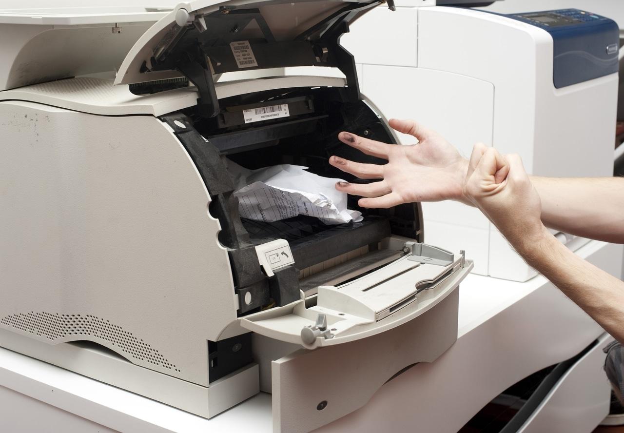 como limpiar impresoras láser