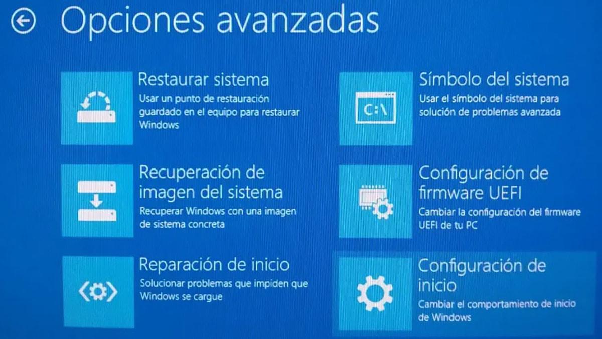 Modo seguro Windows 10