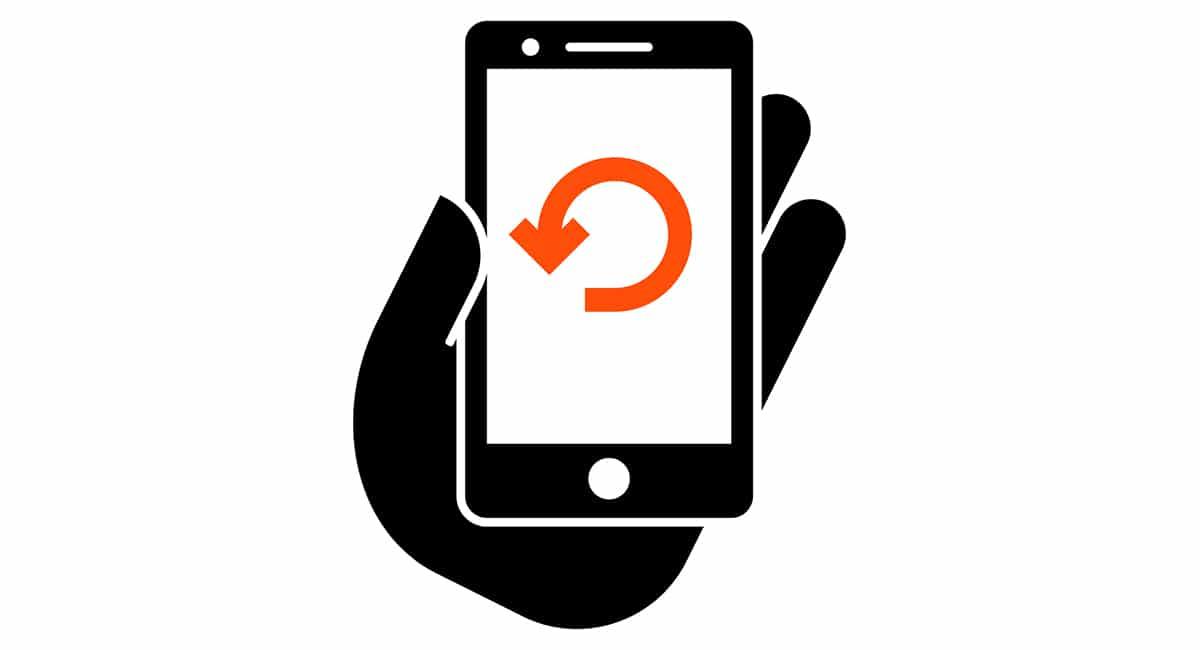Restaurar de fábrica Smarthone