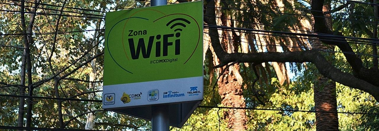 Zona, Antenas WiFi
