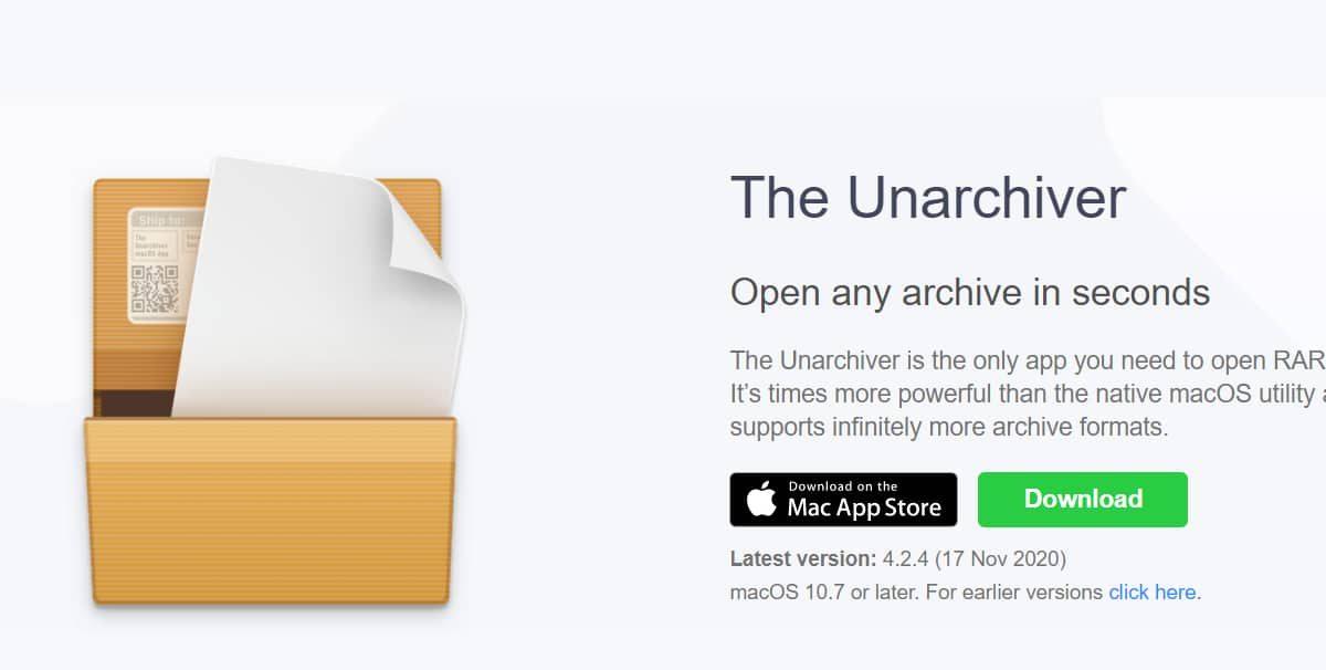 The Unarchiver