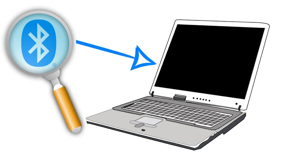 Icono de Bluetooth en el exterior de tu PC