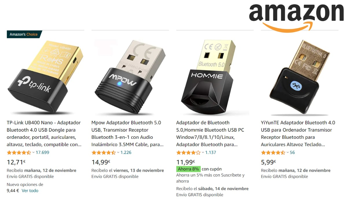 Adaptador Bluetooth para PC