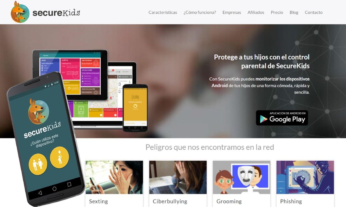 Aplicación Android SecureKids