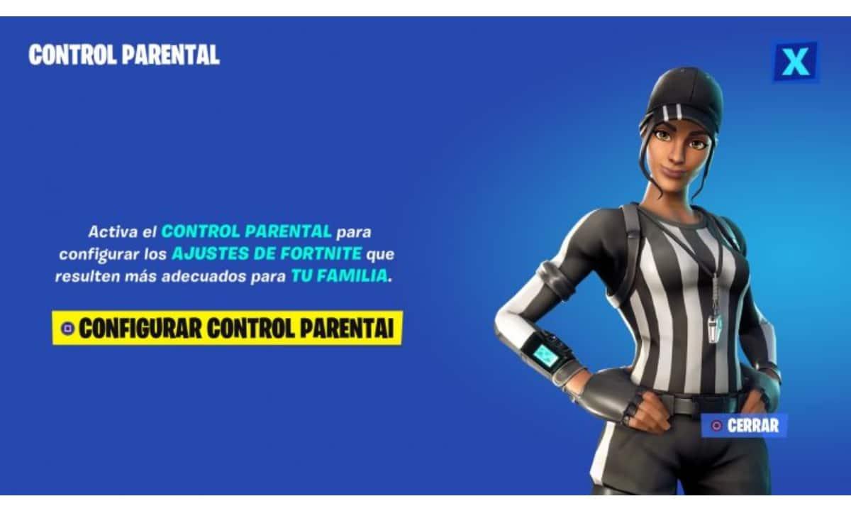 Control Parental de Fortnite