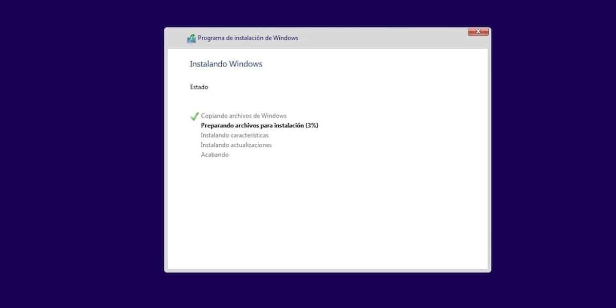 Instalar Windows 10