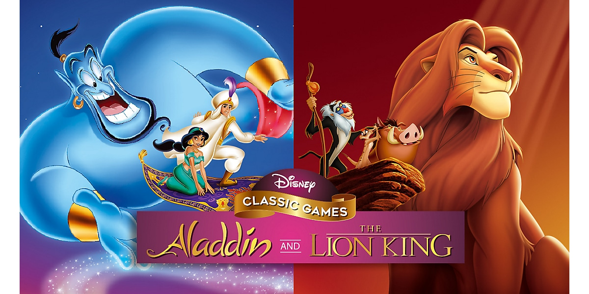 Disney Classic Games Aladdin and The Lion King (2019)