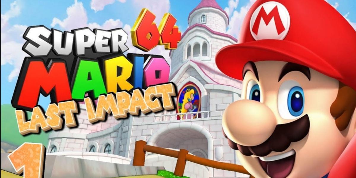 Super Mario Bros 64 Last Impact