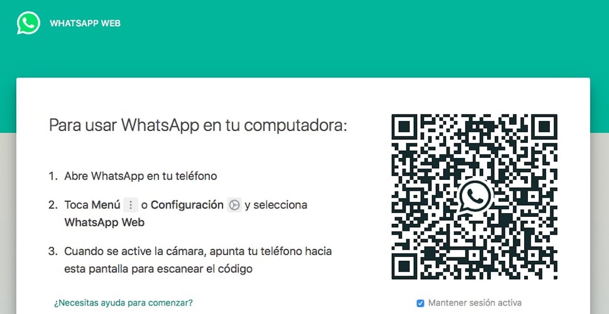 Códigos QR WhatsApp