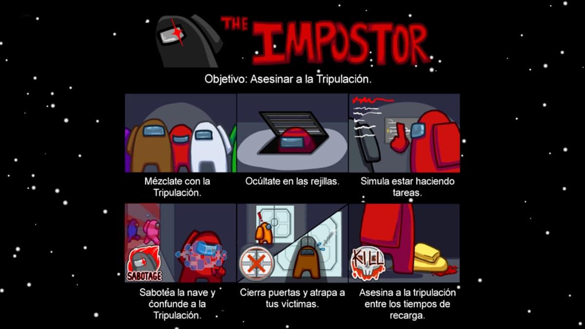 El Impostor en Among Us