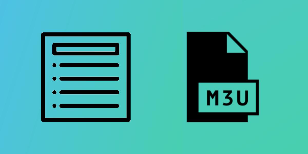 Extensión de archivo m3u
