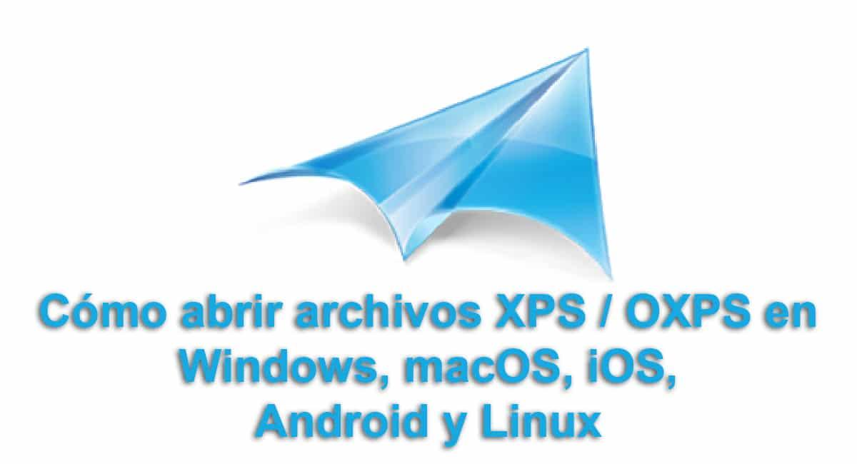 Abrir archivos XPS