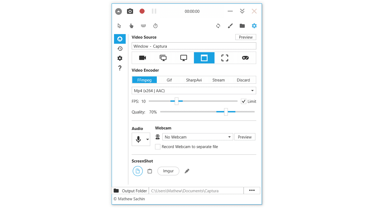 Grabar pantalla Windows 7 con Capture Screen Recorder