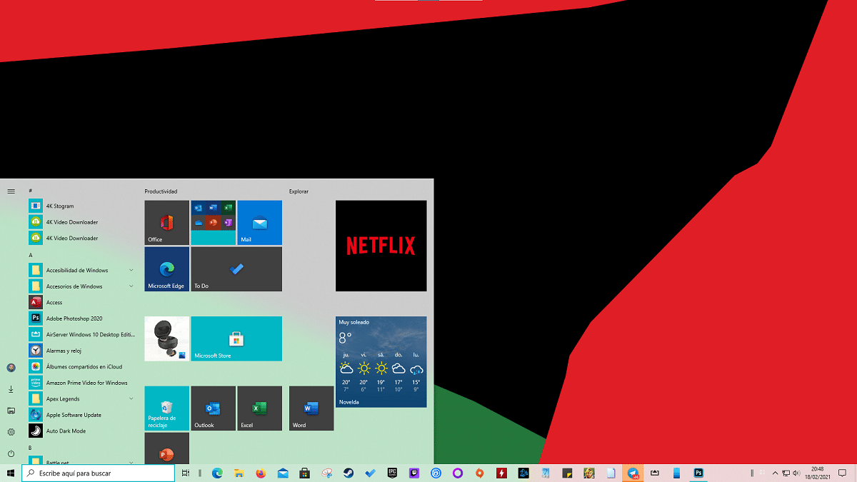 Capturar pantalla en Windows