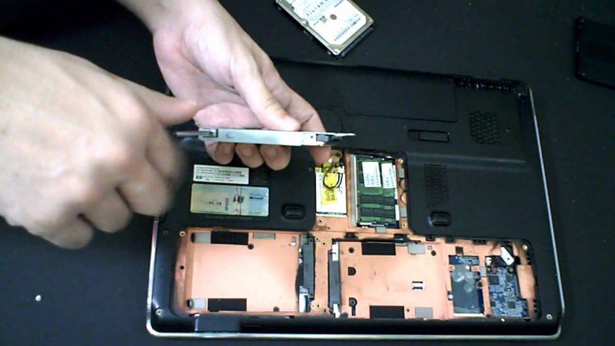 Instalación disco SSD