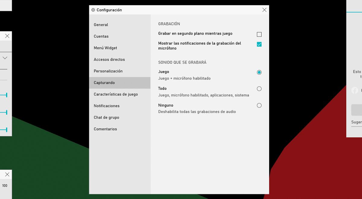 grabar pantalla y sonido Windows 10