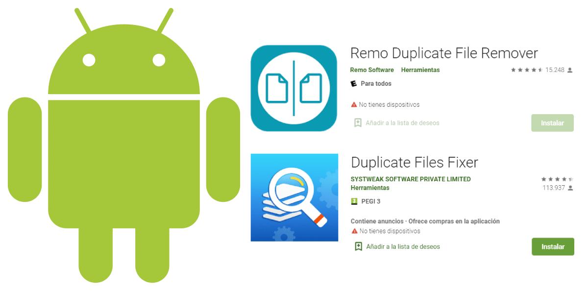 programas android eliminar fotos duplicadas