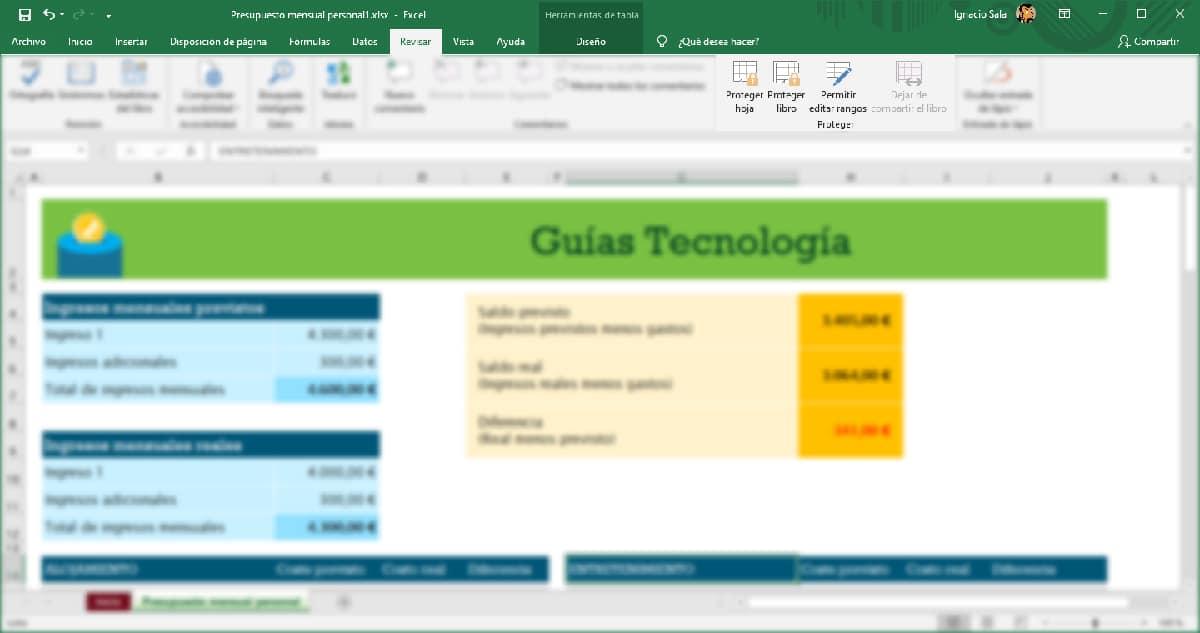 Proteger hoja o libro en Excel