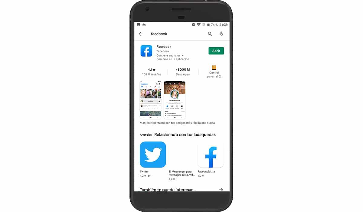 Actualizar aplicación en Android