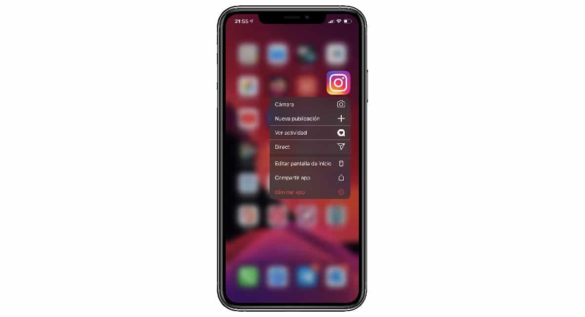 Eliminar aplicación iPhone