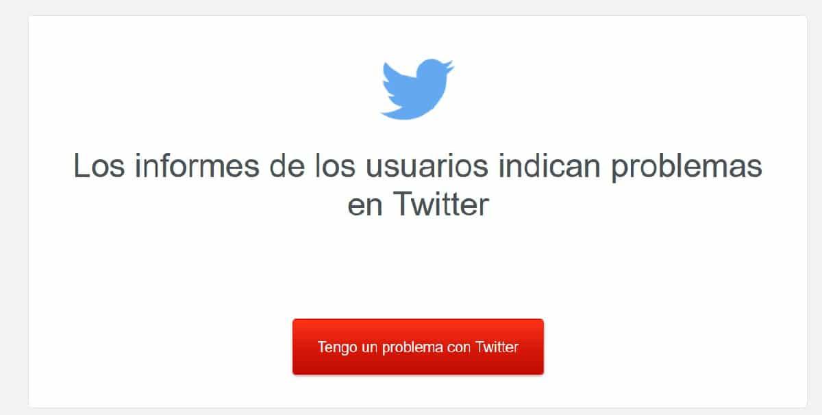 Twitter no funciona