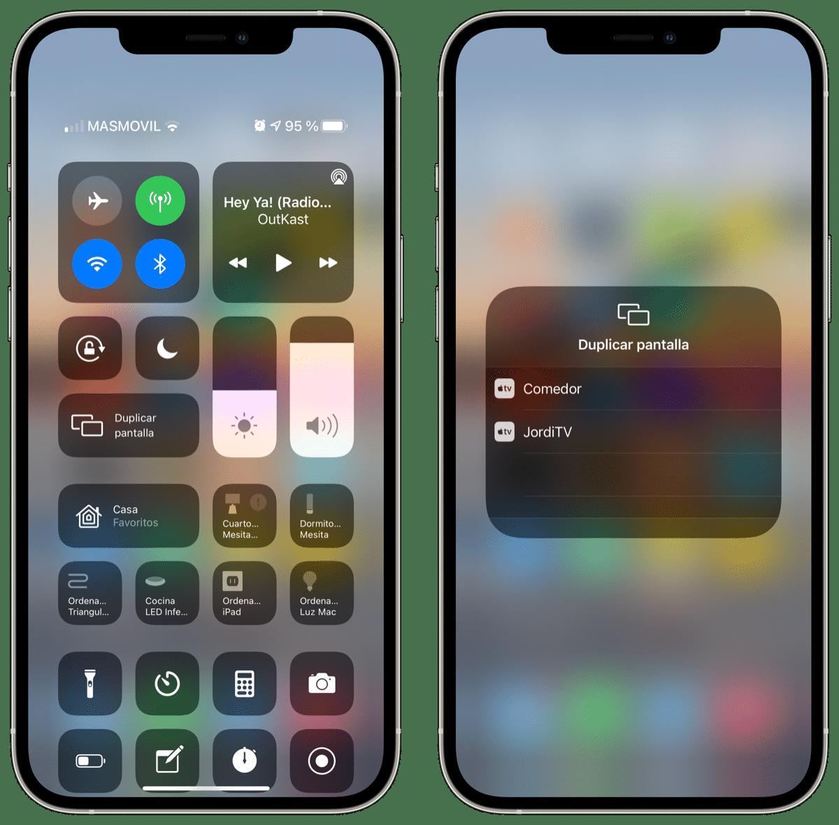 Duplicar pantalla iPhone