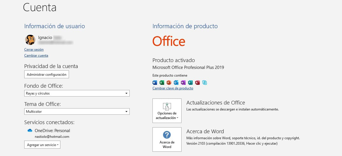 licencia Office