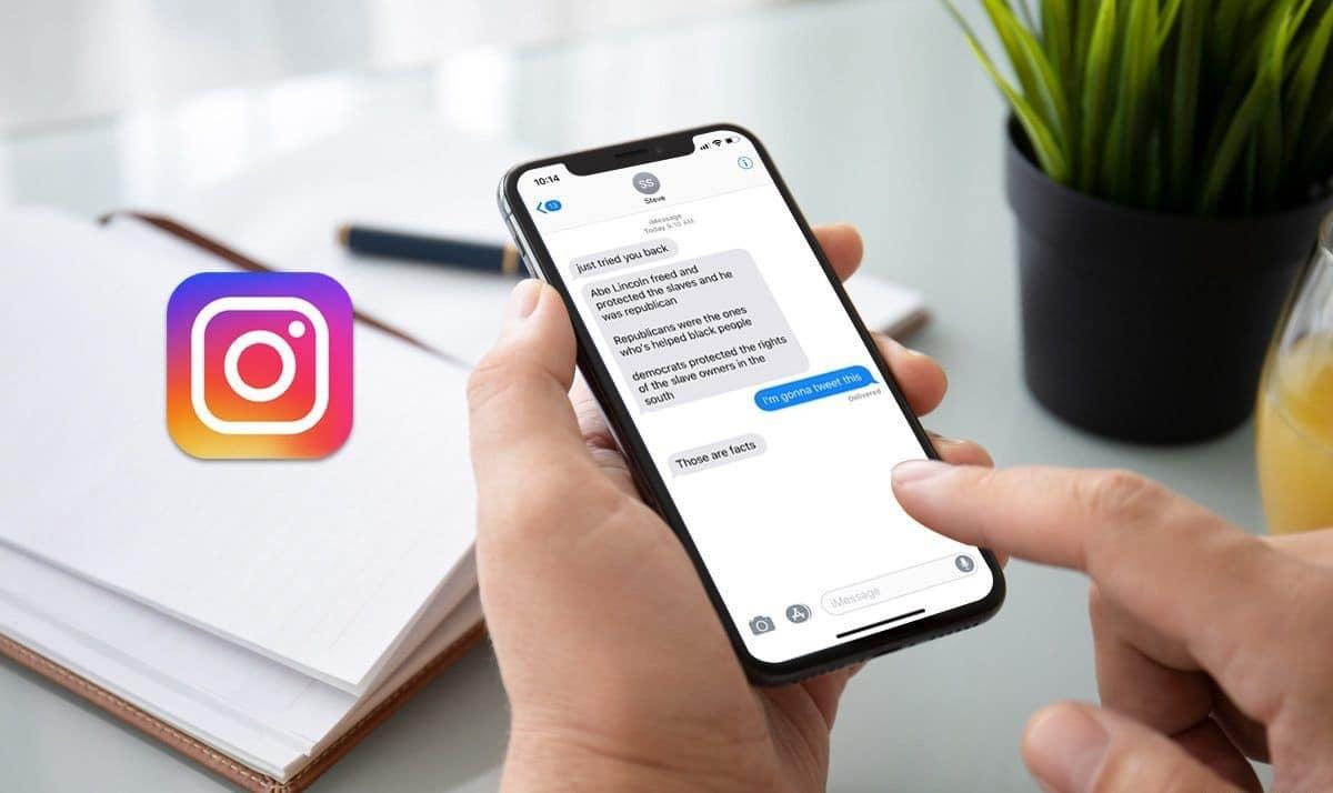 mensajes borrados instagram