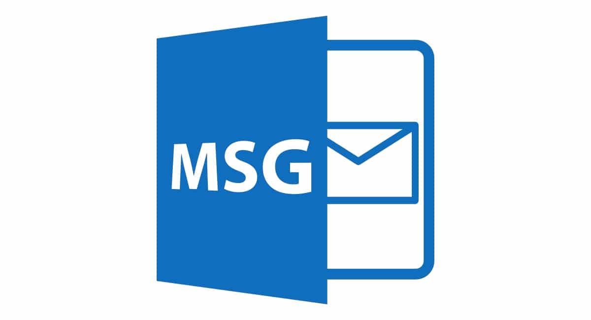 archivos MSG