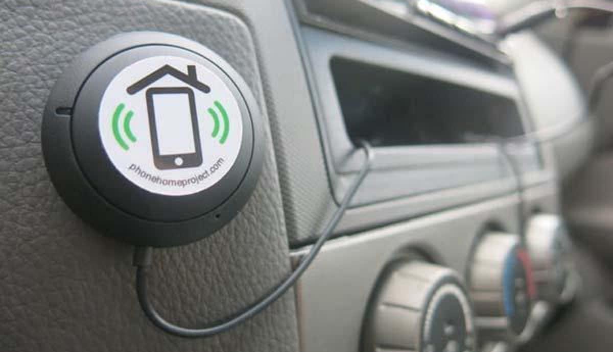 etiqueta NFC vehículo