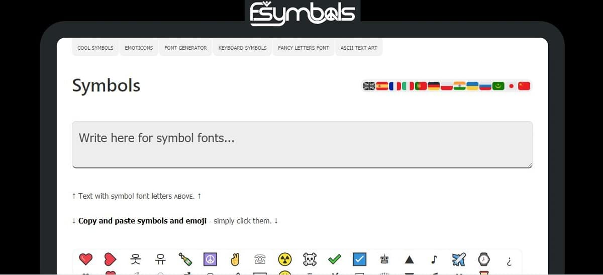 fsymbols