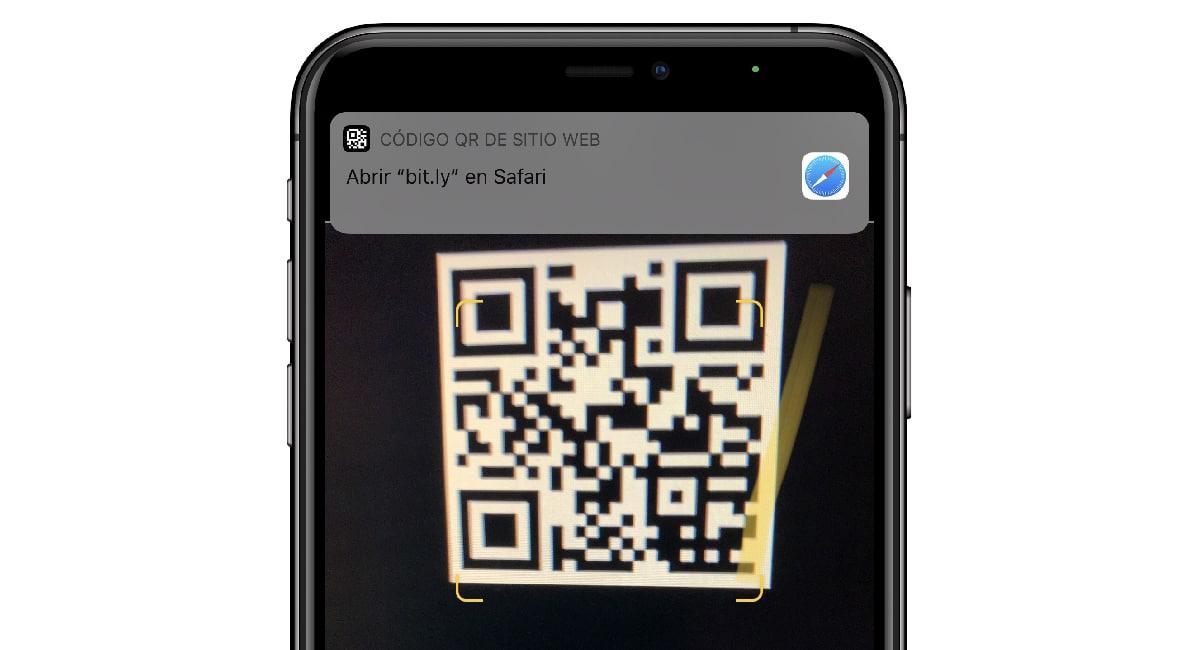 leer código QR iPhone